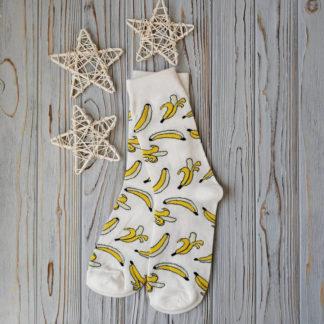 носки белые бананы