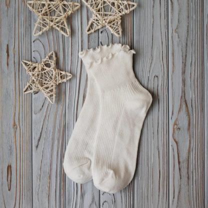 носки белые с рюшей