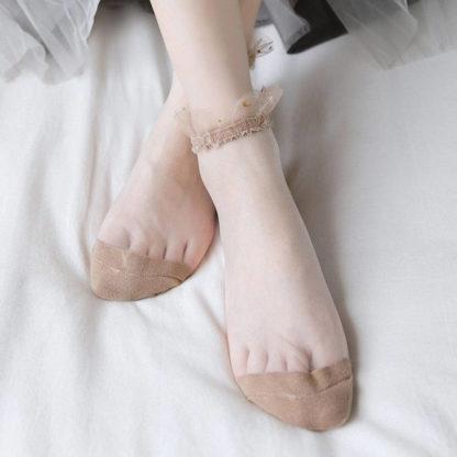 носки капроновые с рюшей2